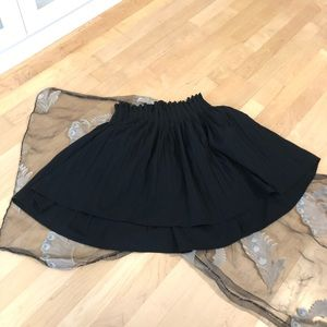 Zara black Mini skirt